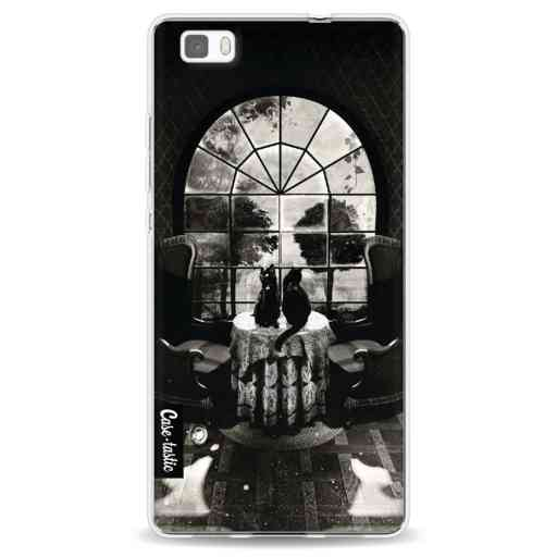 Casetastic Softcover Huawei P8 Lite - Room Skull BW