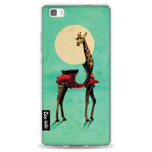 Casetastic Softcover Huawei P8 Lite - Giraffe