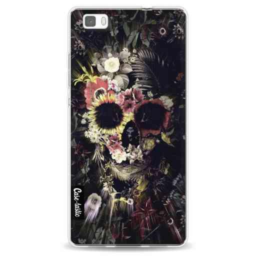 Casetastic Softcover Huawei P8 Lite - Garden Skull