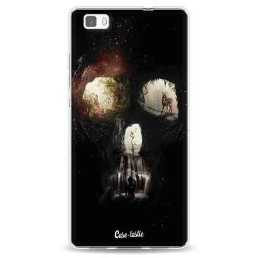 Casetastic Softcover Huawei P8 Lite - Cave Skull