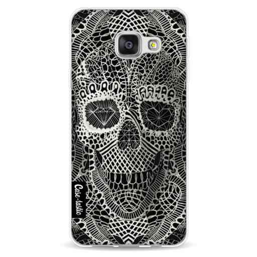 Casetastic Softcover Samsung Galaxy A3 (2016) - Lace Skull