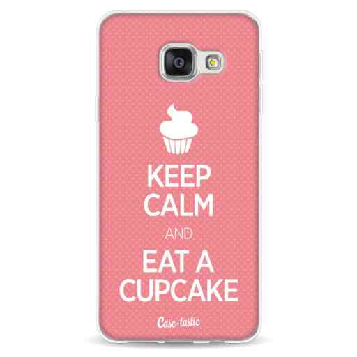 Casetastic Softcover Samsung Galaxy A3 (2016) - Keep Calm And Eat A Cupcake