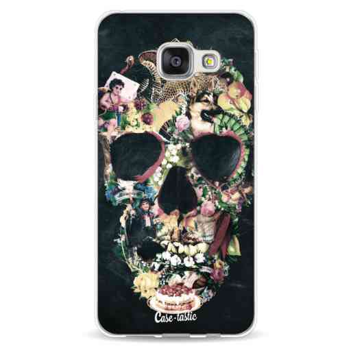 Casetastic Softcover Samsung Galaxy A3 (2016) - Vintage Skull