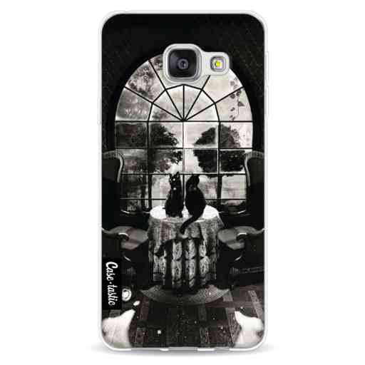 Casetastic Softcover Samsung Galaxy A3 (2016) - Room Skull BW