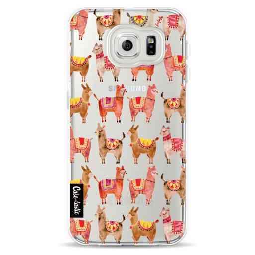Casetastic Softcover Samsung Galaxy S6 - Alpacas