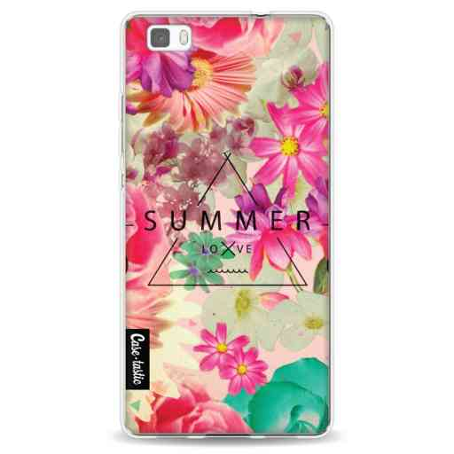 Casetastic Softcover Huawei P8 Lite - Summer Love Flowers