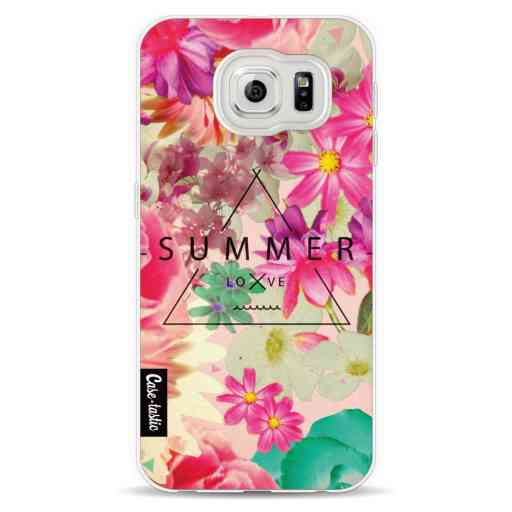 Casetastic Softcover Samsung Galaxy S6 - Summer Love Flowers