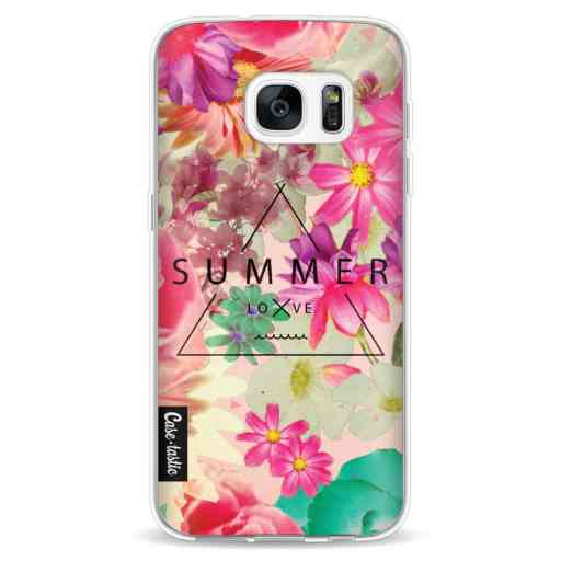Casetastic Softcover Samsung Galaxy S7 - Summer Love Flowers