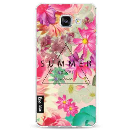 Casetastic Softcover Samsung Galaxy A5 (2016) - Summer Love Flowers
