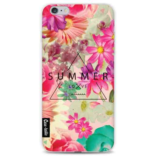 Casetastic Softcover Apple iPhone 6 Plus / 6s Plus - Summer Love Flowers