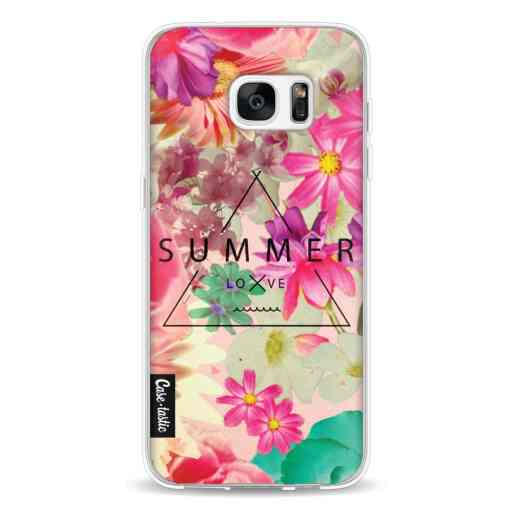 Casetastic Softcover Samsung Galaxy S7 Edge - Summer Love Flowers