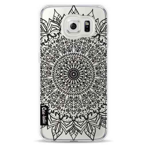Casetastic Softcover Samsung Galaxy S6 - Black Mandala