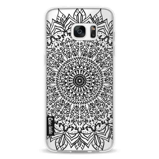 Casetastic Softcover Samsung Galaxy S7 Edge - Black Mandala