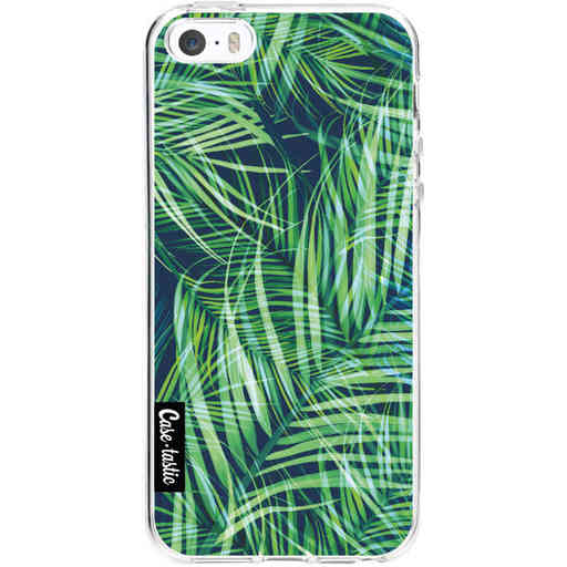 Casetastic Softcover Apple iPhone 5 / 5s / SE - Palm Leaves
