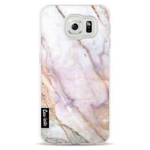 Casetastic Softcover Samsung Galaxy S6  - Pink Marble