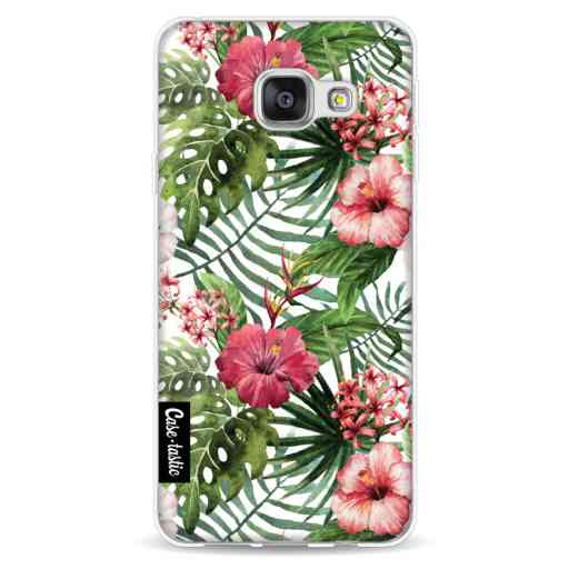 Casetastic Softcover Samsung Galaxy A3 (2016) - Tropical Flowers