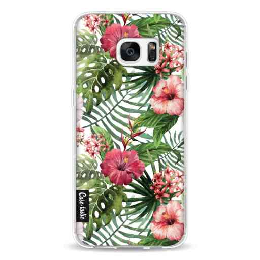 Casetastic Softcover Samsung Galaxy S7 Edge - Tropical Flowers