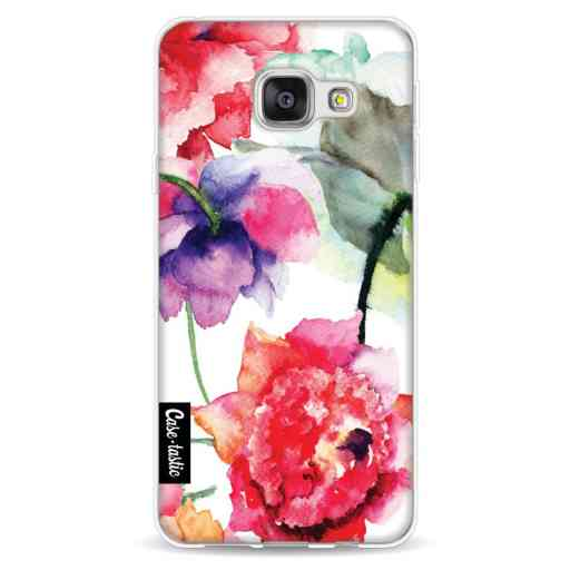Casetastic Softcover Samsung Galaxy A3 (2016) - Watercolor Flowers