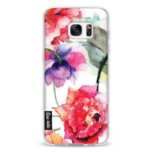 Casetastic Softcover Samsung Galaxy S7 Edge - Watercolor Flowers