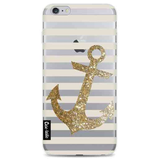Casetastic Softcover Apple iPhone 6 Plus / 6s Plus - Glitter Anchor Gold