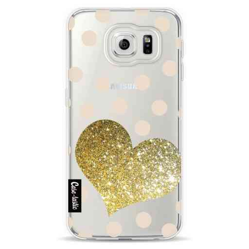 Casetastic Softcover Samsung Galaxy S6  - Glitter Heart