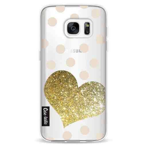 Casetastic Softcover Samsung Galaxy S7 - Glitter Heart