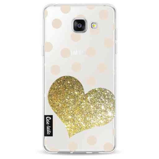 Casetastic Softcover Samsung Galaxy A5 (2016) - Glitter Heart