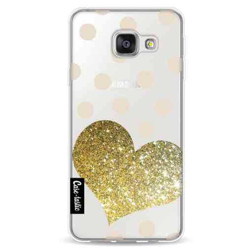 Casetastic Softcover Samsung Galaxy A3 (2016) - Glitter Heart