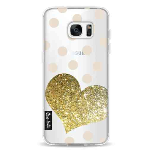 Casetastic Softcover Samsung Galaxy S7 Edge - Glitter Heart