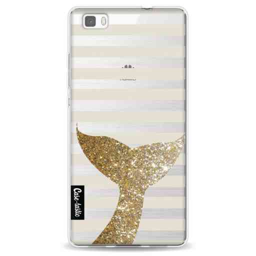 Casetastic Softcover Huawei P8 Lite (2015) - Glitter Sirene Tail