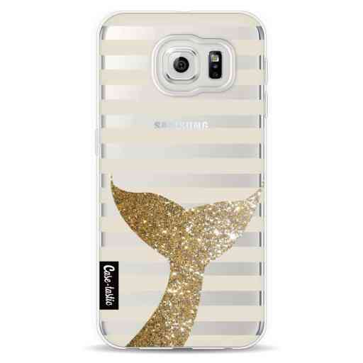Casetastic Softcover Samsung Galaxy S6  - Glitter Sirene Tail