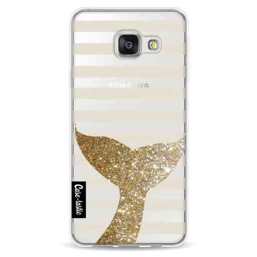 Casetastic Softcover Samsung Galaxy A3 (2016) - Glitter Sirene Tail