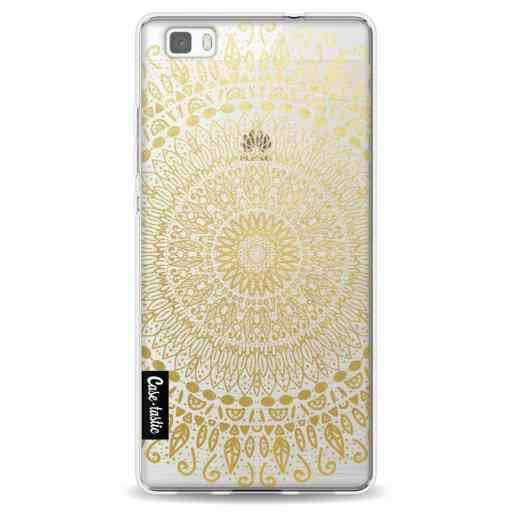 Casetastic Softcover Huawei P8 Lite (2015) - Gold Mandala