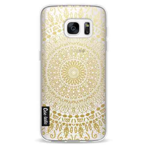 Casetastic Softcover Samsung Galaxy S7 - Gold Mandala