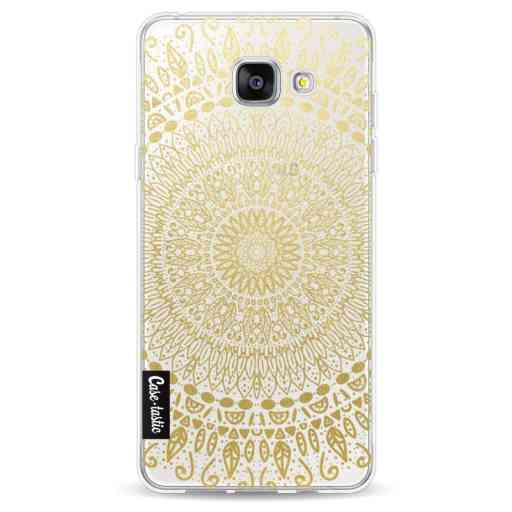 Casetastic Softcover Samsung Galaxy A5 (2016) - Gold Mandala