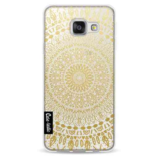 Casetastic Softcover Samsung Galaxy A3 (2016) - Gold Mandala