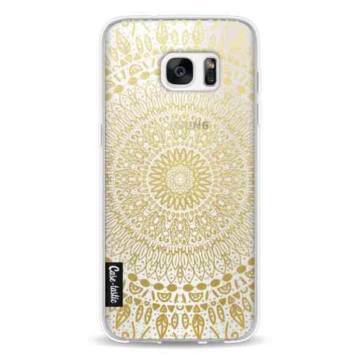 Casetastic Softcover Samsung Galaxy S7 Edge - Gold Mandala