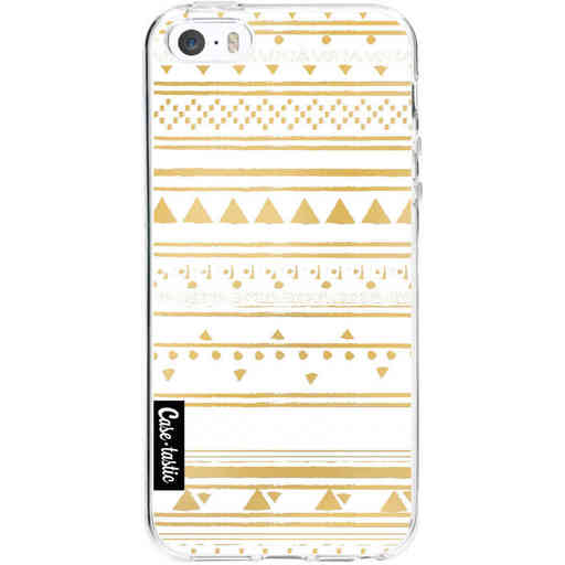 Casetastic Softcover Apple iPhone 5 / 5s / SE - Gold Tribal