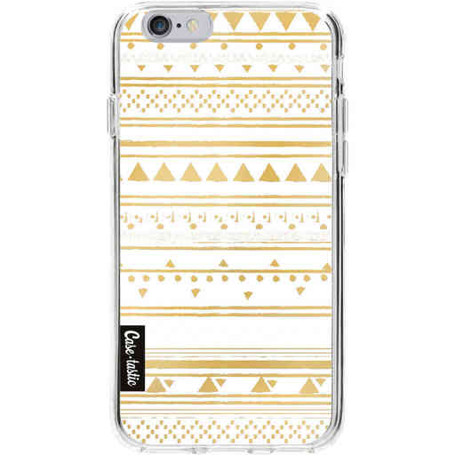 Casetastic Softcover Apple iPhone 6 / 6s  - Gold Tribal