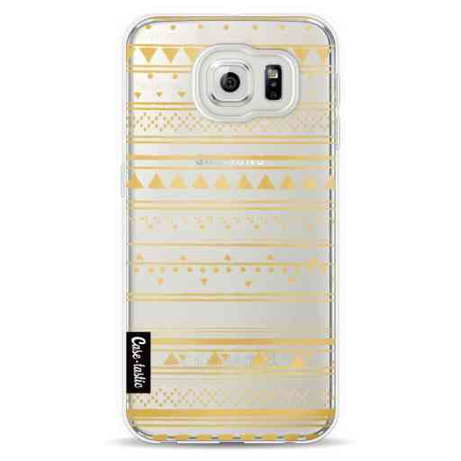 Casetastic Softcover Samsung Galaxy S6  - Gold Tribal
