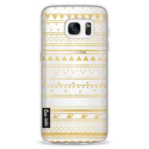 Casetastic Softcover Samsung Galaxy S7 - Gold Tribal