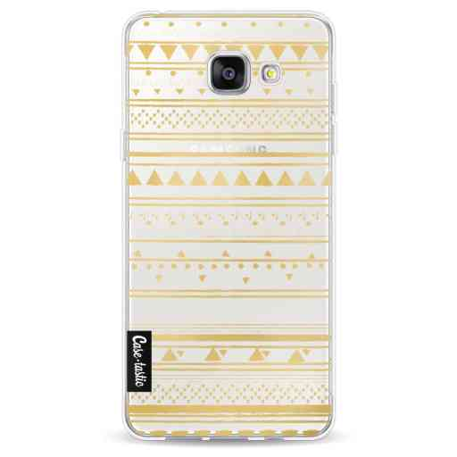 Casetastic Softcover Samsung Galaxy A5 (2016) - Gold Tribal
