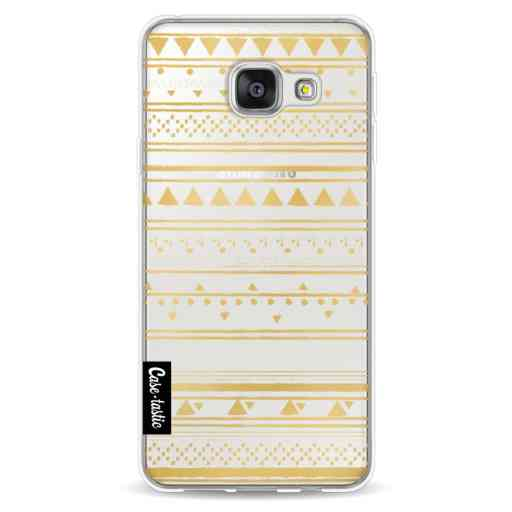 Casetastic Softcover Samsung Galaxy A3 (2016) - Gold Tribal