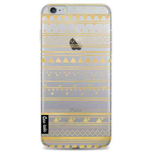 Casetastic Softcover Apple iPhone 6 Plus / 6s Plus - Gold Tribal