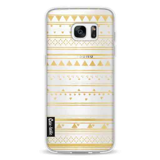 Casetastic Softcover Samsung Galaxy S7 Edge - Gold Tribal