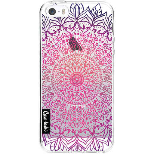 Casetastic Softcover Apple iPhone 5 / 5s / SE - Happy Mandala