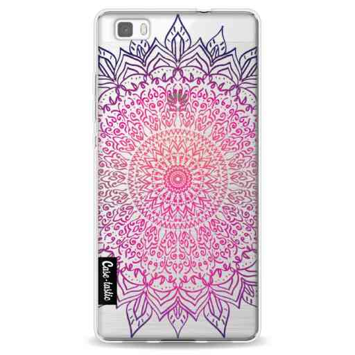 Casetastic Softcover Huawei P8 Lite - Happy Mandala