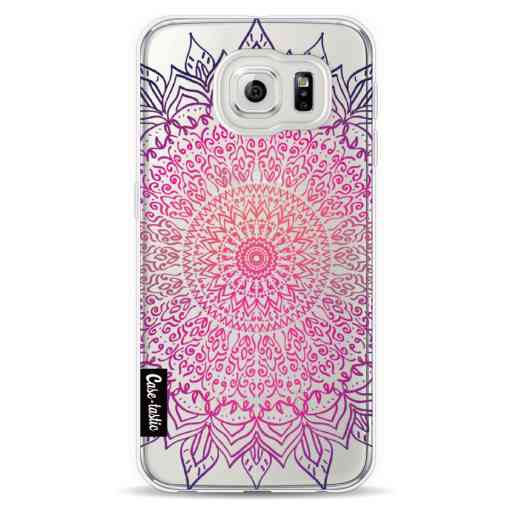Casetastic Softcover Samsung Galaxy S6  - Happy Mandala