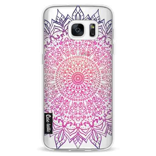 Casetastic Softcover Samsung Galaxy S7 - Happy Mandala