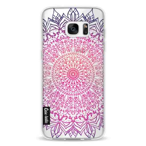 Casetastic Softcover Samsung Galaxy S7 Edge - Happy Mandala